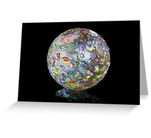 Lone Marble One Greeting Card