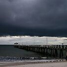 Storm over Henley Beach by Paula McManus
