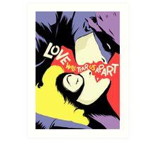 Love Vigilantes: Reversed Art Print