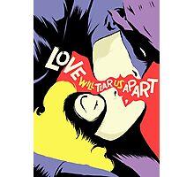 Love Vigilantes: Reversed Photographic Print