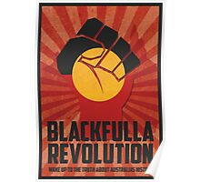 """Blackfulla Revolution """"Wake Up to the Truth About  Australias History"""" Poster"""