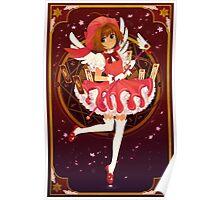 cherry blossom creampuff Poster