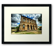 Going Postal - Clunes Post Office , Victoria - The HDR Experience Framed Print
