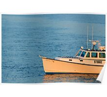 Boat | Mastic, New York  Poster