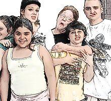 Goofy Granny & the G/Kids by pat gamwell