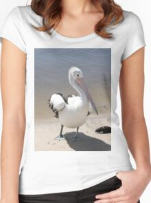 Australian Pelican Women's Fitted Scoop T-Shirt