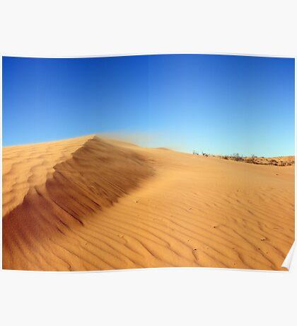 Windy Dune Poster