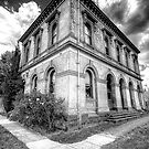 Going Postal # 2 (Monochrome)- Clunes Post Office , Victoria - The HDR Experience by Philip Johnson