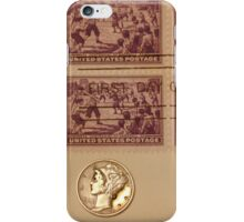 Coins and Stamps iPhone Case/Skin