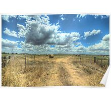 Somewhere Between - Clunes/Ballarat - The HDR Experience Poster