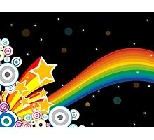 Rainbow In Space Photographic Print