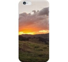 The green hills of home iPhone Case/Skin