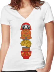 Cultural Awareness Women's Fitted V-Neck T-Shirt