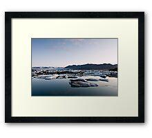 Glacier Lagoon #7 Framed Print