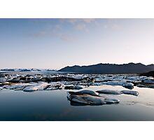 Glacier Lagoon #7 Photographic Print