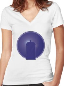 Do you happen to know how to fly this thing? Women's Fitted V-Neck T-Shirt