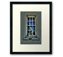 Windows of Their Minds - - Beechworth Lunatic Asylum - The HDR Experience Framed Print