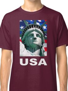 Statue of Liberty, New York, USA Classic T-Shirt