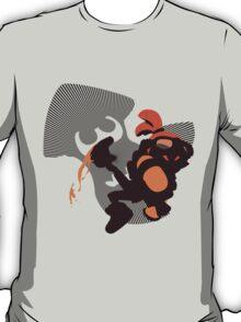 Orange Male Inkling - Sunset Shores T-Shirt