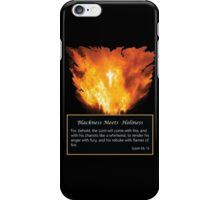 Blackness Meets Holiness iPhone Case/Skin