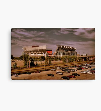 Cleveland Browns Stadium Canvas Print
