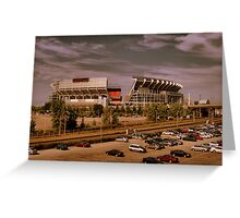 Cleveland Browns Stadium Greeting Card