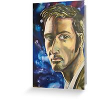 David Tennant as Doctor Who Greeting Card