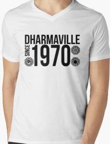Dharmaville: Since 1970 Mens V-Neck T-Shirt
