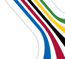 ZannoX Retro Stripes Sticker