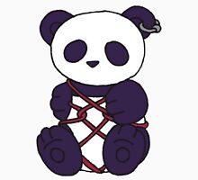 Shibari Panda Womens Fitted T-Shirt
