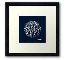 Modernist Branch Framed Print