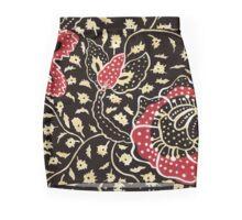 Flower Motif Pencil Skirt