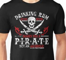 Drinking Rum Before Noon Unisex T-Shirt