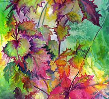 Coleus by Maureen Whittaker