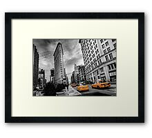 Flatiron Building - NY Framed Print