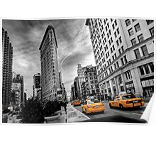 Flatiron Building - NY Poster