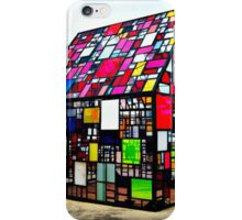 Tom Fruin's Stained Glass House iPhone Case/Skin