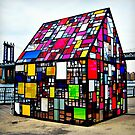 Tom Fruin's Stained Glass House by ShellyKay