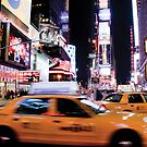 Time Square at Night by Xpresso