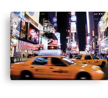 Time Square at Night Canvas Print