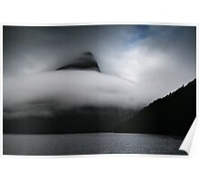 Cloud wave Poster