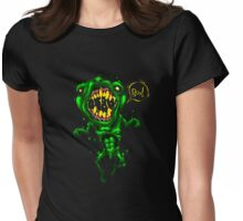 Boo goes the Homunculus Womens Fitted T-Shirt