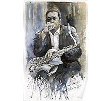 Jazz Saxophonist John Coltrane  Poster
