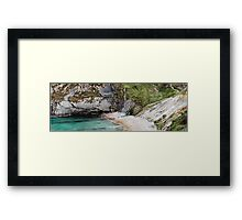 Man O War Bay, Dorset  Framed Print