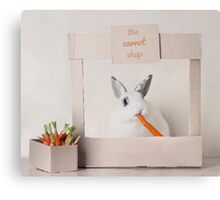 The Carrot Shop Canvas Print