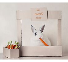 The Carrot Shop Photographic Print
