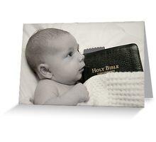 Jesus loves the little children.... Greeting Card