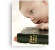 Bible Thumper Canvas Print