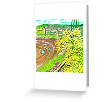 Road Turns  Greeting Card
