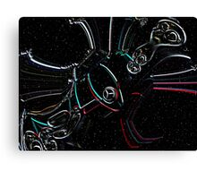 Mercedes Star War Canvas Print